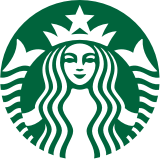 The Starbucks logo representing a typical brand in the Agency Access Creative Directory